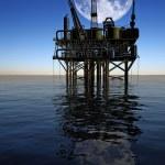 Oil Rig — Stock Photo