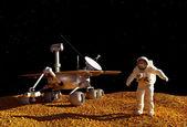 O astronauta — Foto Stock