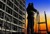 The worker — Stock Photo
