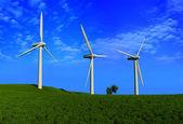 Energia del vento — Foto Stock