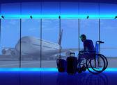 Uomo con disabilità — Foto Stock