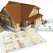 Model of a house — Stock Photo #4645407