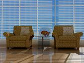 Interiören i rummet — Stockfoto