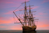 The ship — Zdjęcie stockowe