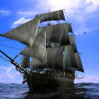 The ancient ship — Stock Photo #4986119