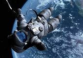Uzay gemisi — Stok fotoğraf