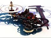 Zegar mechaniczny — Zdjęcie stockowe