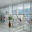 Stock Photo: Interior of office