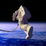 astronauten — Stockfoto