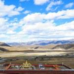 Landscape of western sichuan plateau — Stock Photo #4439377