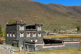 Tibetan building — Stock Photo
