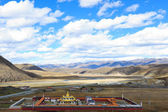 Landscape of western sichuan plateau — Stock Photo