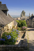 Locronan en bretagne — Photo