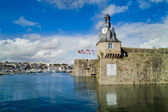 Concarneau en bretagne — Stock Photo