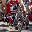Stock Photo: Competition de handbike