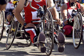 Competition de handbike — Stock Photo