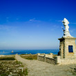 Pointe du raz en bretagne - Stock Photo