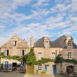 Locronan en bretagne — Stock Photo