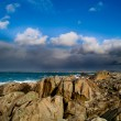 Tempete a penmarch en bretagne — Stock Photo