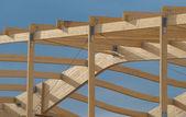 Charpente en bois — Stock Photo