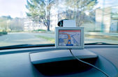 Conduite au gps — Stock Photo