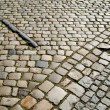 Old retro pavement in the street — Stock Photo