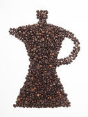 Coffeepot — Stockfoto