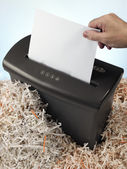 Electric shredder — Stock Photo