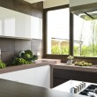 Modern kitchen - Stockfoto