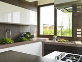 Modern kitchen — Foto de Stock