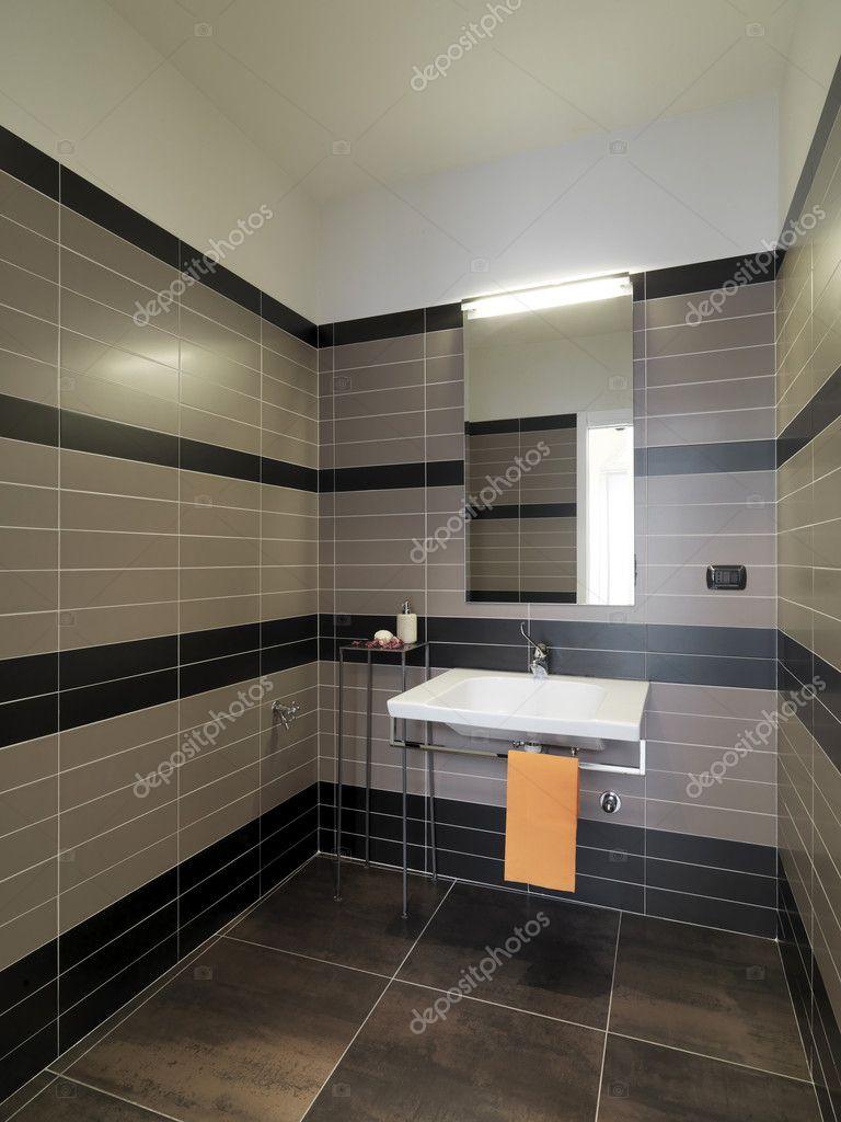 Modern smÃ¥ badrum — stockfotografi © aaphotograph #4356643