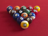 Numbered balls — Foto de Stock