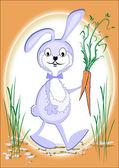 Rabbit. Vector illustration — Stock Vector