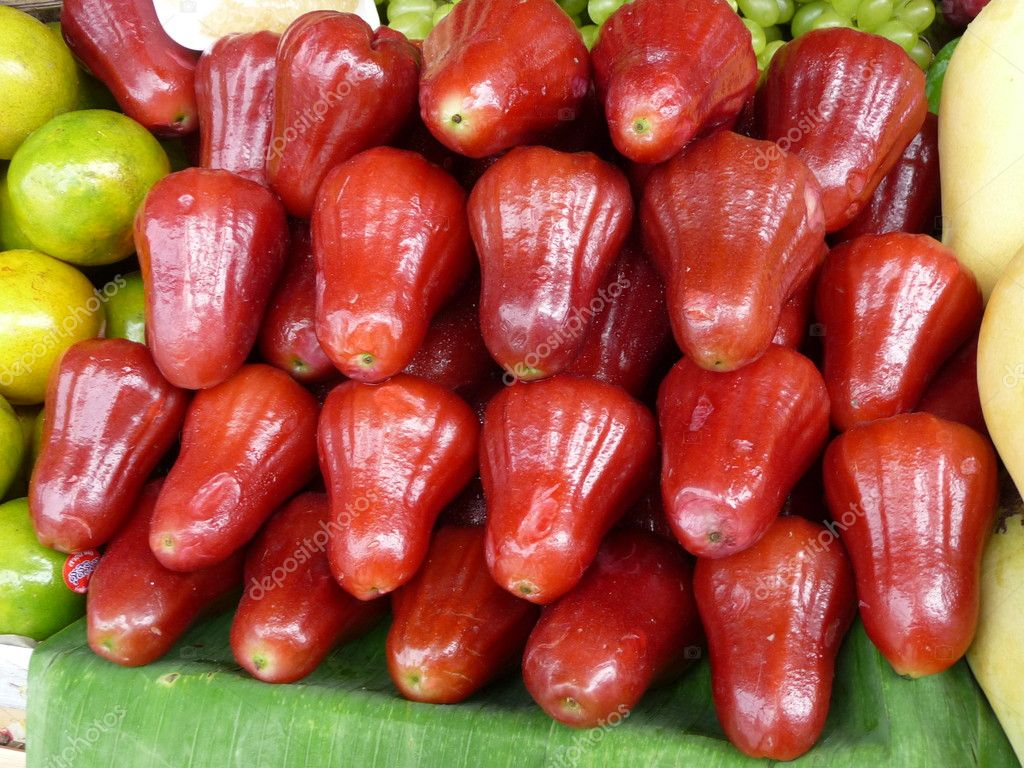 Fruit shop, south fruits, tropical fruits, fruit exotic - combination  Stock Photo #4465148