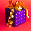 Set of new years gifts — Stock Photo