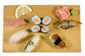 Morceaux de sushi — Photo
