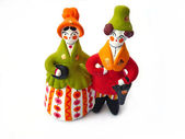 Painted toys — Stock Photo