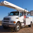 Stock Photo: Big Utility Truck