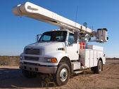 Velké rozvážkový náklaďák — Stock fotografie