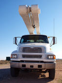 Big Utility Truck — Stock Photo