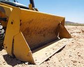 Bulldozer at rest — Stock Photo
