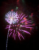 Fireworks in Tonopah Arizona — Stock Photo