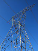 мощность башня — Стоковое фото