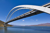 Roosevelt Lake Bridge Arizona — Stock Photo