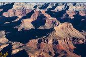 大峡谷白雪皑皑 — 图库照片