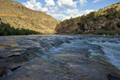 Tuz river falls — Stok fotoğraf