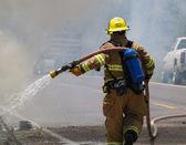 El bombero — Foto de Stock