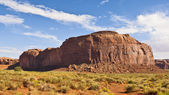 Thunderbird Mesa of Monument Valley — Stock Photo