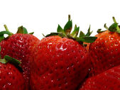 Strawberries background2 — Stock Photo