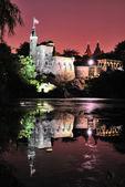 Castle at Night — Foto Stock